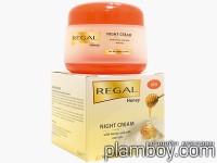 Нощен крем за лице с мед и мляко - Regal - Rosa Impex