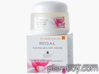 Дневен подхранващ крем за лице за суха кожа с UV филтър, водна лилия - Rosa Impex