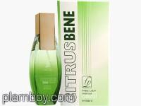 Дамски парфюм Citrus Bene natural сравнен със зелено C-Thrue  - Free Lady - Gardeny